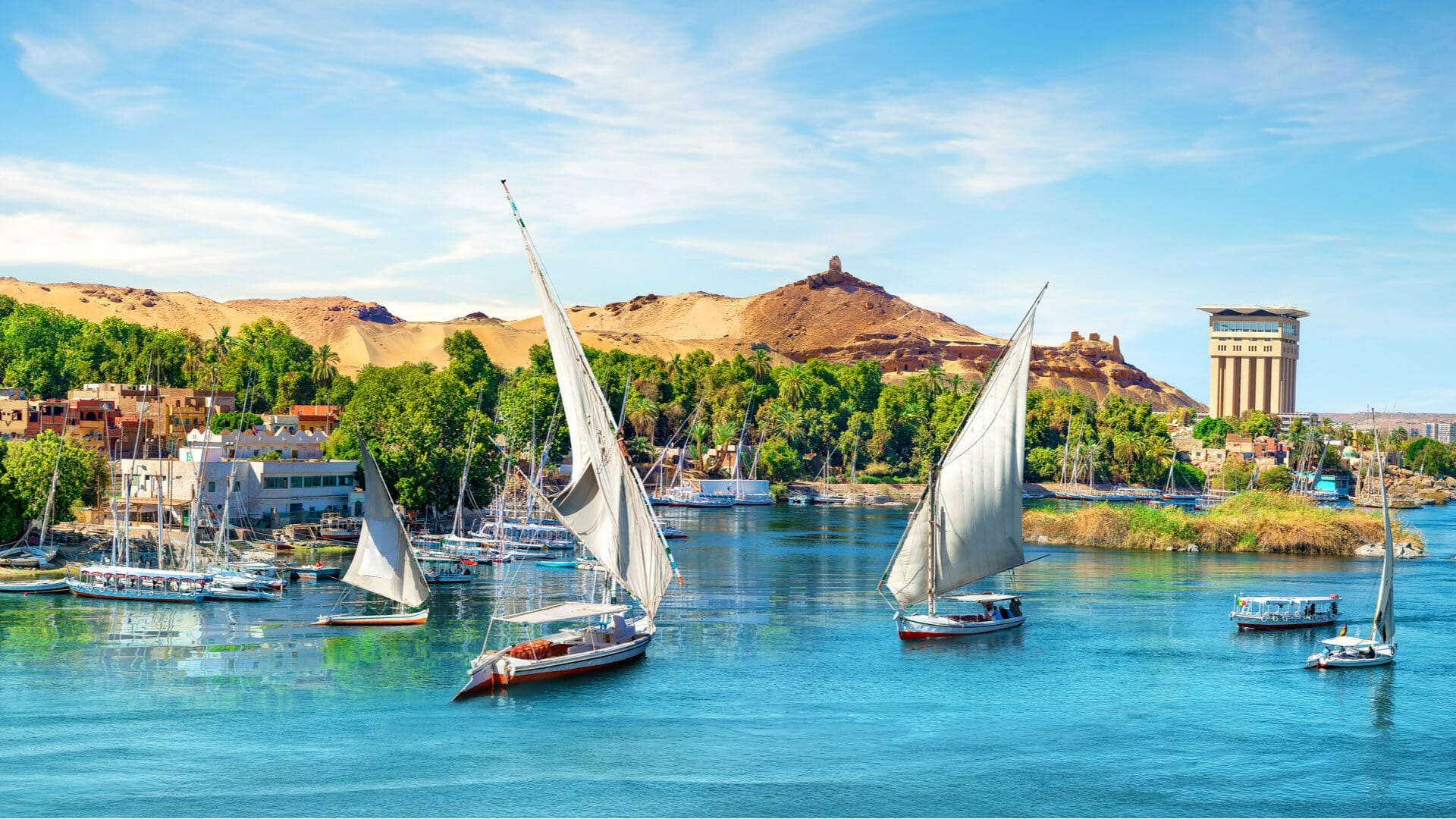 best places to visit in Aswan