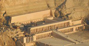 Temple of Deir Al-Bahri (Queen Hatshepsut's temple)