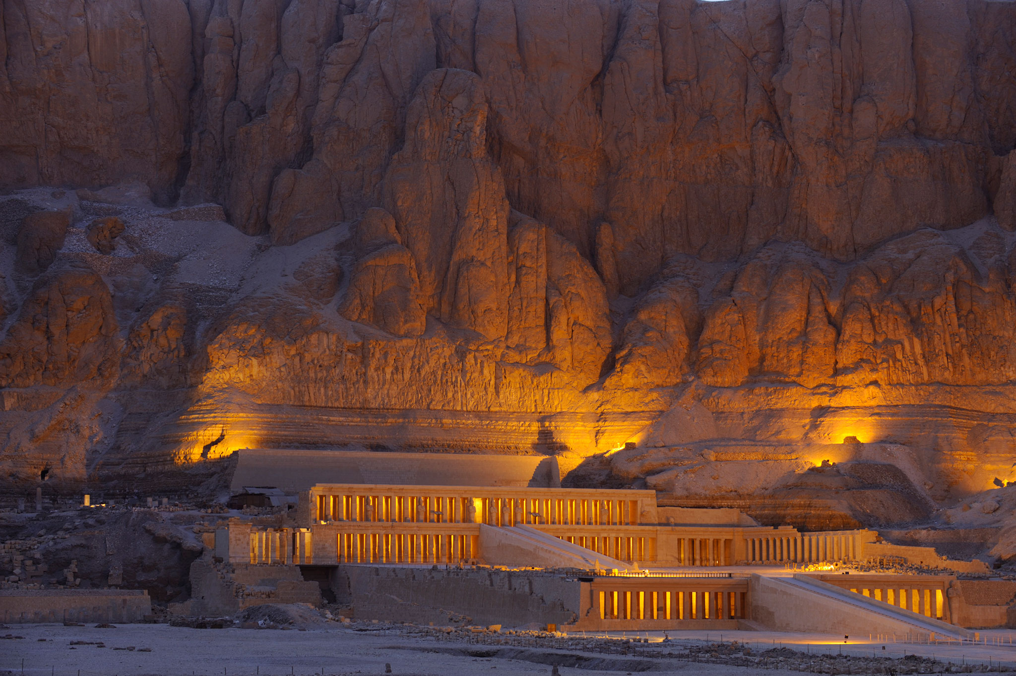 Temple of Deir Al-Bahri (Queen Hatshepsut's temple) some of the best places to visit in Luxor